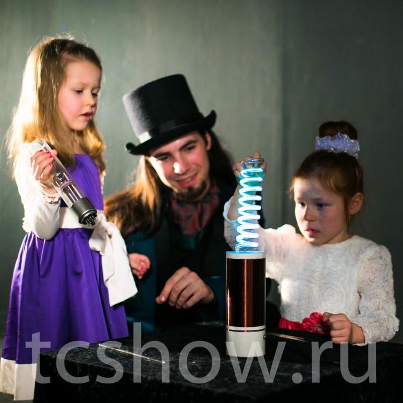 Детское Тесла шоу в СПб