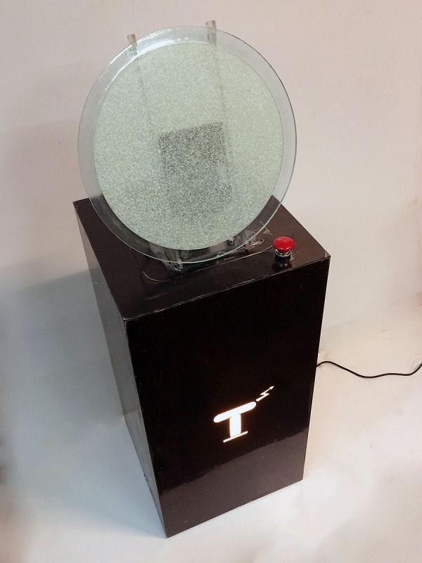 """Научный экспонат """"Плазменный диск"""""""