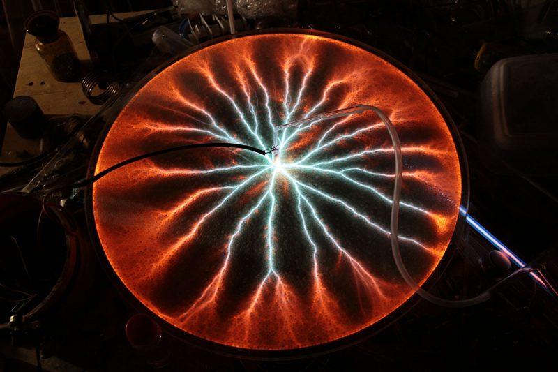 Гигантский плазменный диск