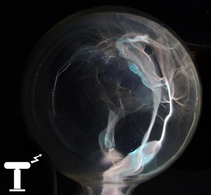 Хаотичный плазменный шар